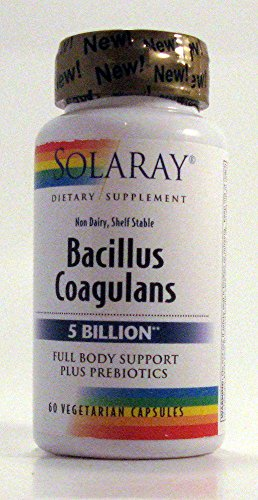 Solaray Bacillus Coagulans VCapsules Count product image
