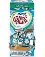 Sf French Vanilla Creamer 375 Oz 50 Creamers Box