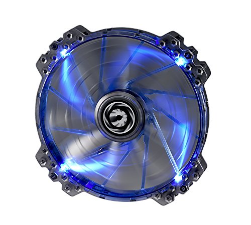BitFenix BFF-LPRO-20025B-RP Spectre Pro 200mm LED Case Fan, Blue