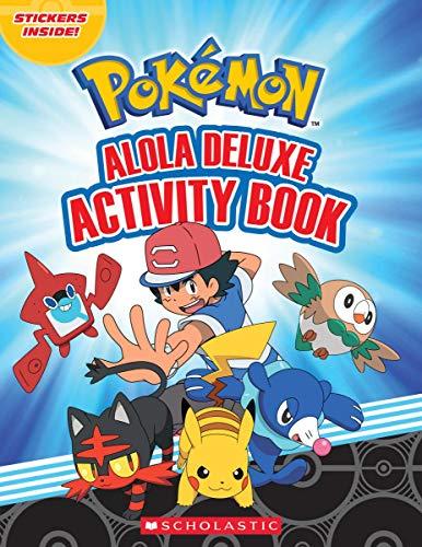 - Alola Deluxe Activity Book (Pokémon)