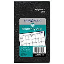 DayMinder Monthly Planner 2016, 3.62 x 6.06 Inches Page Size, Assorted Colors - Color May Vary (SK53-10)