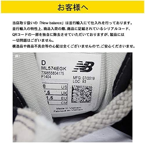 スニーカー CM996 メンズ レディース ブラック×グレー US10.0(28cm) [並行輸入品]