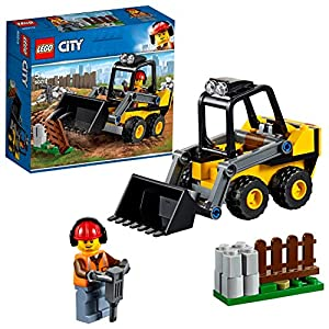 LEGO City Construction Loader Building Blocks for Kids (88 Pcs)60219