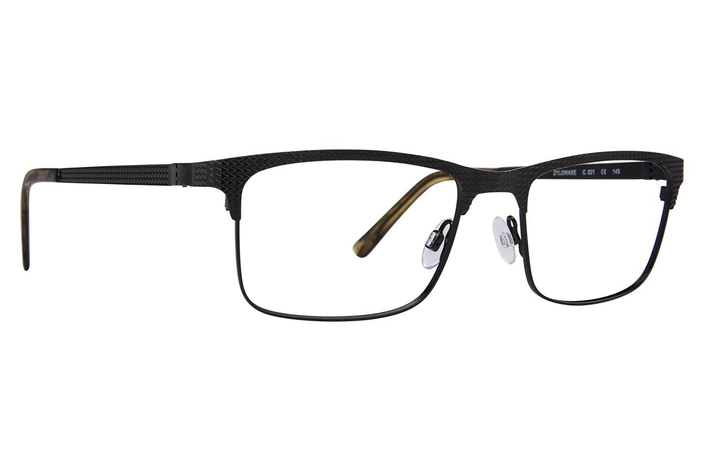 Black Randy Jackson RJ 1077 Mens Eyeglass Frames