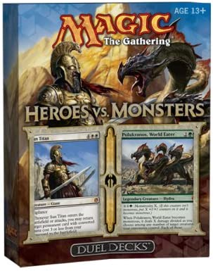 Magic The Gathering Heroes Vs Monsters - Juego de Mesa (en Ingles): Wizards of the Coast: Amazon.es: Juguetes y juegos