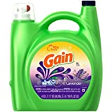 Gain Liquid Laundry Detergent, Lavender Scent,Regular Washer and HE compatible, 96 loads, 150 fl oz (1)