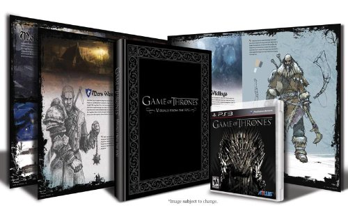 Game of Thrones Art Book Bundle - Playstation 3 (Game Of Thrones Ps3 Video Game)