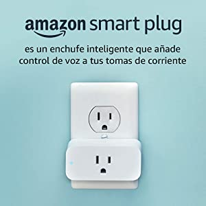 Amazon Smart Plug compatible con Alexa