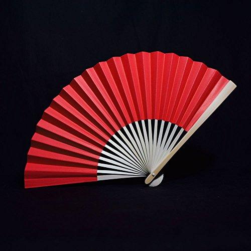 hand fan red - 4