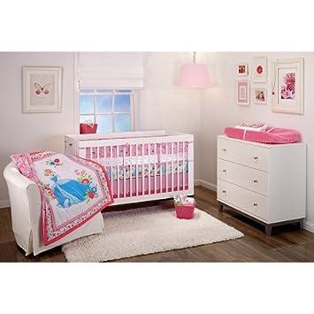 Amazon.com : 4pc Baby Girl Pink Disney Princess Cinderella ...