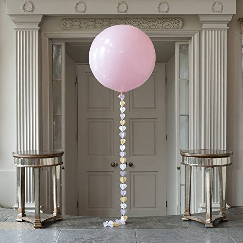 Dds5391 New 36 Inch Perfect Round Inflatable Latex Balloon Wedding Birthday Party Decor - Rose Red by dds5391 (Image #2)