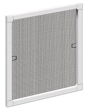 Schellenberg 50735 Insektenschutz-Fenster STANDARD 120 x 150 cm braun