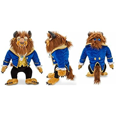"Disney Store Beauty and The Beast Large/Jumbo 23"" Beast Plush Doll Soft-Stuffed Toy Gift: Toys & Games"