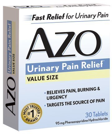 AZO Standard Urinary Pain Relief, 30 Count