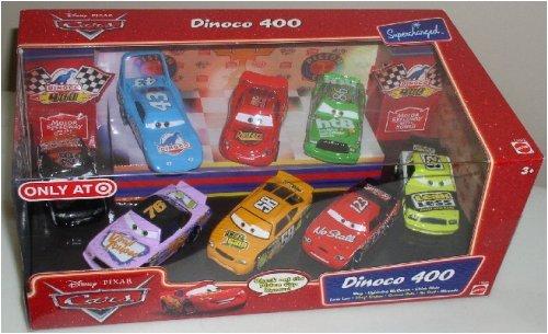 Collectors Cup Set (Mattel Disney Pixar Cars Dinoco 400 8-pc Cars Collector Set)