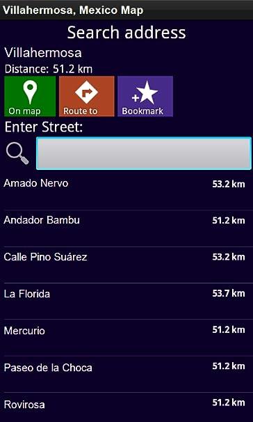 Amazon.com: Villahermosa, Mexico - Offline Map: Appstore for ...