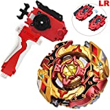 LR String Launcher Grip Bey Burst Blade Evolution God Bey Battle Booster Starter Gyro Bay Battle Set...