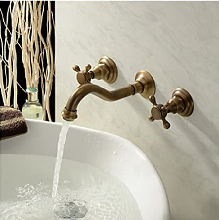 brass faucet bathroom gooseneck gold p carved luxury antique ltj