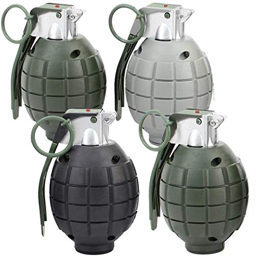 (Lot of 4 Kids Toy B/o Grenades for Pretend)