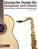 Klassische Duette Für Saxophon und Gitarre, Javier Marcó, 1479232599