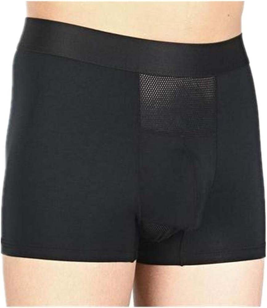 YUHUALI Separación de Pistola Spandex Ropa Interior Pantalones Ice Silk Boxer