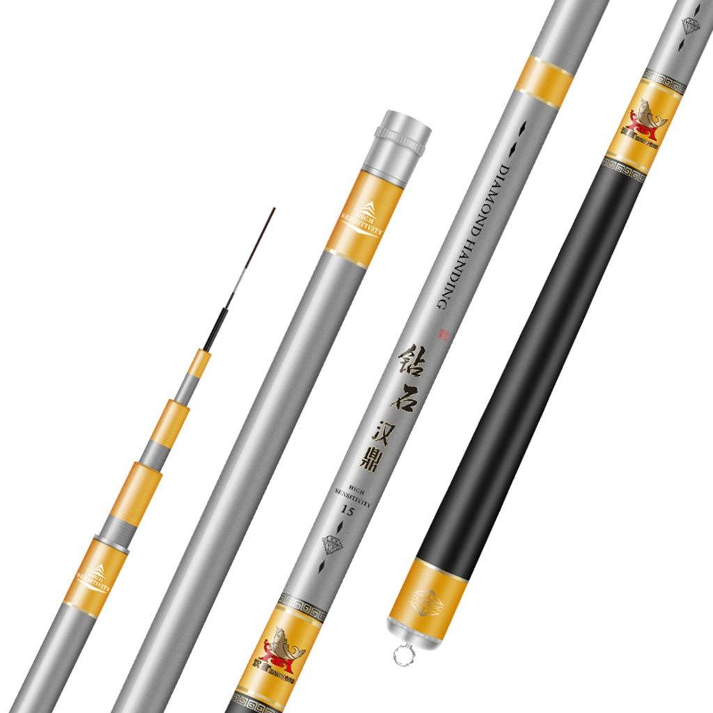 本店は QIAO 3.6m プロ仕様 釣り 高輝度 釣り竿 アウトドア 超軽量 シルバー アウトドア 冬釣り 3.6-7.2M カーボン素材 B07H6XHRYC シルバー 3.6m, ヘムリーベット:ec4db872 --- arianechie.dominiotemporario.com