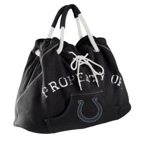 Littlearth NFL Sport Noir Hoodie Tote Geldbörse Indianapolis Colts