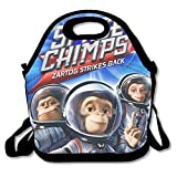 Space Chimps Logo Travel Tote Lunch Bag