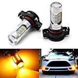 5202 amber led fog light bulbs - iJDMTOY 360-degree shine 15-SMD-5730 High Power 5202 LED Bulbs For Fog Lights or Daytime Running Lights, Amber Yellow