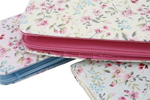 Wild and Free Floral Design Portafoglio da viaggio/borsa, 3motivi assortiti