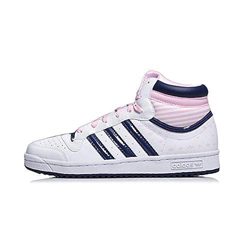 Schuhe Damenmädchen G43401 J Topten Leder Hi Gr36 Adidas 5AjRL34