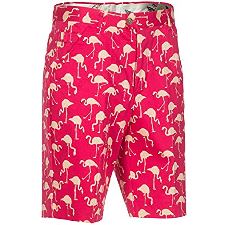 Royal & Awesome Men's Patterned Golf Shorts