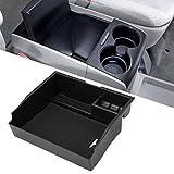 etopmia Car Center Console Armrest Box Glove Box Secondary Storage for Toyota Sienna 2011-2017