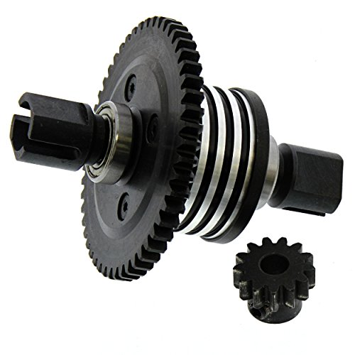 Losi Desert Buggy XL-E 4WD: Center Differential, Outdrives, Spur & Pinion (Center Differential Spur Gear)