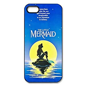 iPhone 5/5S Case,iPhone 5S Case,Mermaid iPhone5S Case [The Little Mermaid] Protective Cover Skin for iPhone 5 5S,Mermaid Waterproof Case for iPhone 5,Case for iPhone 5S