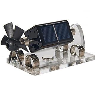Sunnytech Stirling Engine – Solar Magnetic Levitation Model Levitating Mendocino Motor Educational Model ST41
