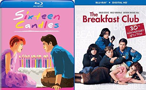 Breakfast Club & Sixteen Candles Molly Ringwald... Blu Ray Fun Comedy 80's High School Teen movie Set John Hughs