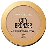 Maybelline New York City Bronzer Powder Makeup, Bronzer and Contour Powder, 200, 0.32 Oz