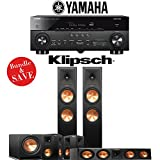 Klipsch RP-280F 5.1-Ch Reference Premiere Home Theater System with Yamaha AVENTAGE RX-A770BL 7.2-Channel Network A/V Receiver