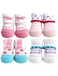 4-Piece Girl Novelty Socks Gift Set