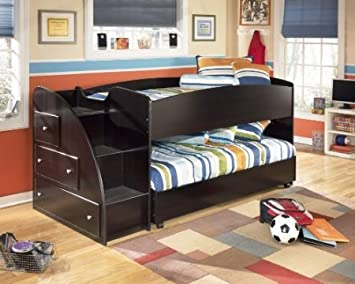 loft trundle bed. embrace youth twin loft bed with trundle amazon.com