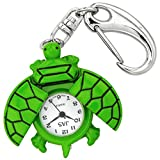 Green Turtle Novelty Belt Fob/Keychain Watch