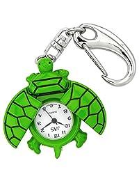 Green Turtle Novelty Belt Fob/Keychain Watch