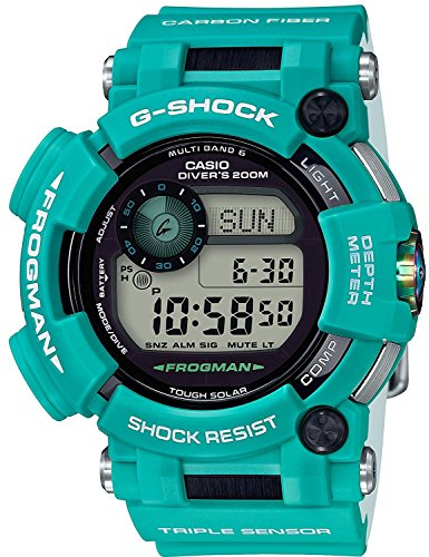 CASIO watch G-SHOCK G Shock Frogman master in marine blue Solar radio GWF-D1000MB-3JF ??Men's