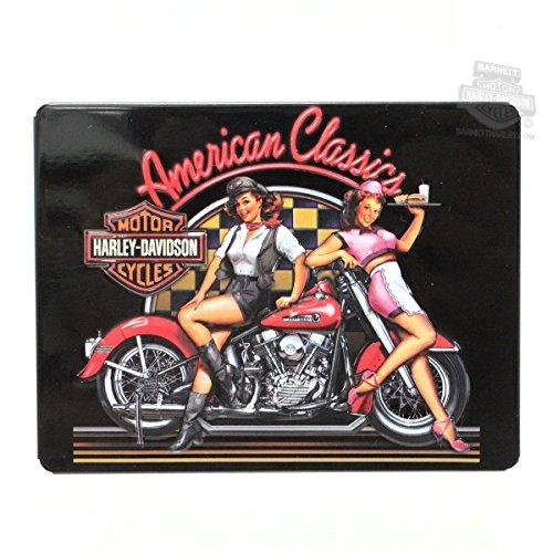 Harley-Davidson American Classics Babes Magnet
