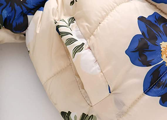 3M-3Y SIN vimklo Baby Winter Jacket Zip Thick Snowsuit Solid Color Hoodie Coat Jumpsuit