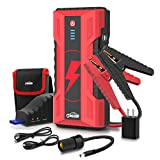 Oasser Car Jump Starter Auto Battery Booster 1000Amp Peak 15000mAh 12V Portable Jump Pack Lithium Power Pack with Fast-Charge Up to 7.0L Gas/5.0L Diesel J5