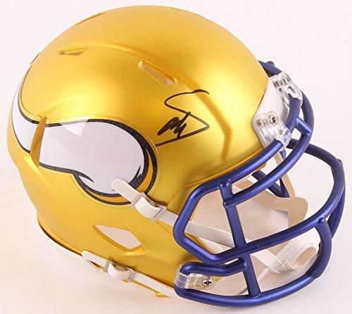 Stefon Diggs Signed Autographed Minnesota Vikings RARE BLAZE SPEED Mini Helmet TSE Sports COA & Hologram from Signature Dog Autographs