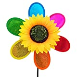 UNAKIM-Garden Yard Party Camping Windmill Wind Spinner Ornament Decoration Kids Toy New