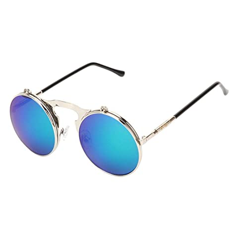 Zerama Tirón de última Moda Steampunk Gafas de Sol para ...